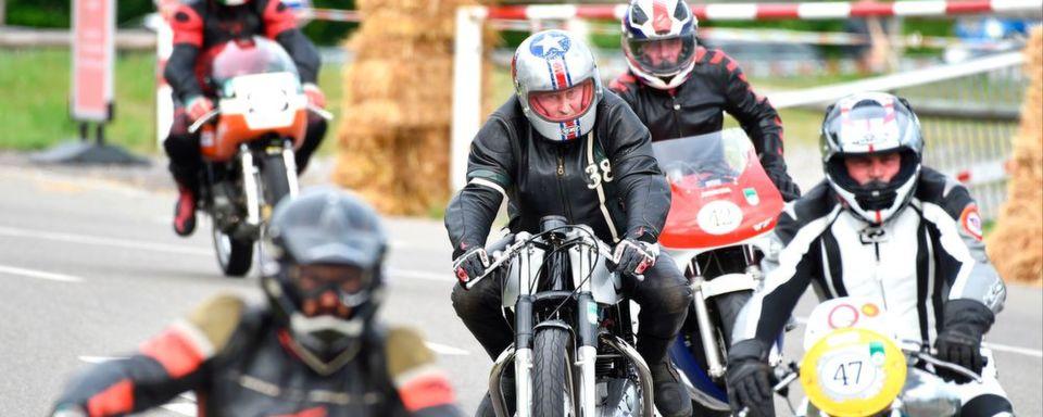 Die Bikeoldies werden auf der Klassikwelt Bodensee auch in zahlreichen fahraktiven Events zu sehen sein.