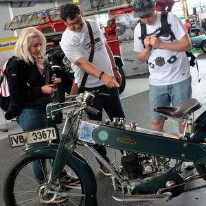 Klassikwelt Bodensee 2017: Kultbikes parken in der ersten Reihe