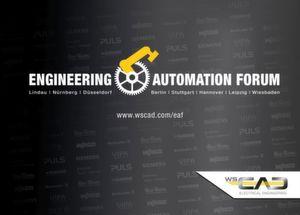 Das WSCAD Engineering & Automation Forum findet dieses Jahr von Mai bis Oktober in acht ausgewählten Städten quer durch Deutschland statt.