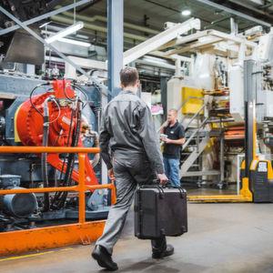 Die Walzwerke von Kraiburg laufen fast durchgängig im Dreischichtbetrieb. Daher spielt die Maschinenverfügbarkeit eine extrem wichtige Rolle.