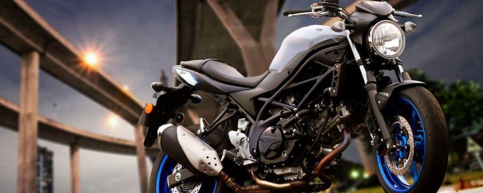 Muss wegen Problemen bei der On-Board-Diganose zurück in die Werkstatt: Suzuki SV 650.