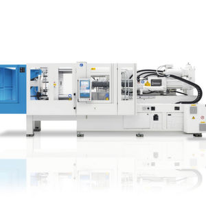 The CX series is a compact, efficient and flexible two-panel machine with a clamping force range from 350 to 6500 kN.