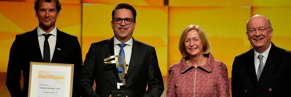 Greiferspezialist gewinnt Hermes Award 2017