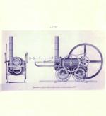 Einer der Ersten der in der Lage war, eine Hochdruckdampfmaschine zu bauen, war der US-Amerikaner Oliver Evans. Er hatte seine Erfindung bereits 1784 beendet, konnte die Maschine aber erst 1812 vollends realisieren. So kam ihm Richard Trevithick zuovor, der seine Konstruktion bereits 1801 fertigstellte. Bei Hochdruckdampfmaschinen wird der Dampf weit über 100 °C erwärmt, so dass sich ein höherer Druck aufbaut. Auf eine separate Abkühlung des aus dem Zylinder austretenden Wasserdampfes mittels Kondensator kann verzichtet werden. Dieser Maschinentyp konnte dank der höheren Energiedichte des unter Druck stehenden Dampfes eine größere Kraft entwickeln, was so den praktikablen Einsatz von Dampfmaschinen in Dampflokomotiven ermöglichte. Vertreter dieser Bauart sind praktisch alle Kolbendampfmaschinen in Fahrzeugen seit Evans und Trevithick. Die Entwicklung der Dampfmaschine stieß die erste große industrielle Revolution an, die Forscher und Ingenieuere auf neue Ideen in der Massenfertigung brachte. // SG