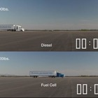 Brennstoffzellen-Lkw vs. Diesel-Lkw