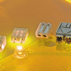 LED-Anschlussklemmen in Rastermaßen 2,4 und 3 mm