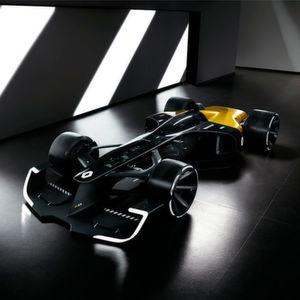 Renault präsentiert auf der Auto Shanghai 2017 mit dem Concept Car R.S. 2027 Vision seine Interpretation künftiger Formel-1-Fahrzeuge.