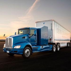 Toyota will ab Sommer 2017 einen wasserstoffbetriebenen Lkw im Hafen von Los Angeles testen.