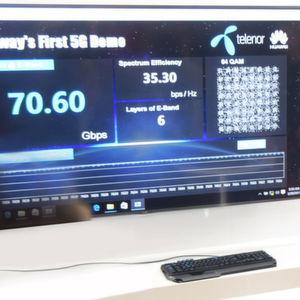 Kurzstrecken-Mobilfunk mit 70 Gbit/s