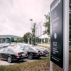 Die großen Autohändler: Autohäuser Grampp