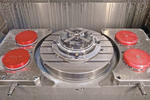 Die zum Einsatz kommende Erowa-Schnittstelle für die Palettensysteme «PowerChuck 210 / ITS 148» bietet Jossi die Möglichkeit des präzisen und automatisierten Werkstückwechsels.