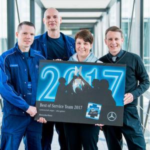 Bester Mercedes-Servicebetrieb kommt aus Spandau