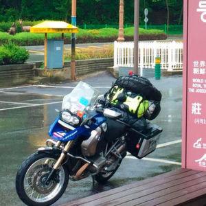 Mit dem Dunlop Trailsmart von Italien nach Korea