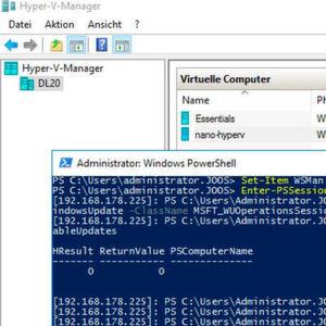 Hyper-V-Hosts als Zentralverwaltung virtueller Betriebssysteme