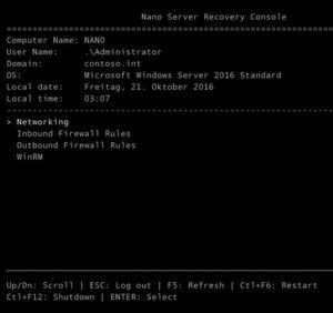 Als Container-Host für Docker-Container kann auch der neue Nano-Server in Windows Server 2016 genutzt werden.