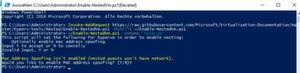 Innerhalb von VMs kann in Windows Server 2016 Hyper-V installiert werden. Sinnvoll ist das zum Beispiel für Hyper-V-Container auf Nano-Servern.