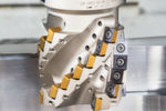 The Heliquad extended flute shell mills provide high-efficiency milling with resulting surface conditions close to semi-finish conditions.