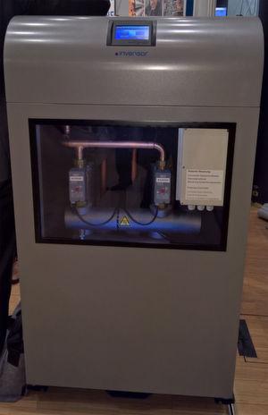 Die Adsorptionskältemaschinen von Invensor passen in jedes Rechenzentrum, nutzen Rechenzentrumsabwärme zum Kühlen und senken daher den Energiebedarf erheblich.