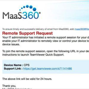 Remote Support für Unified Endpoint Management