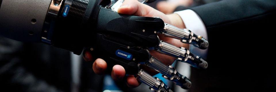 Automation and cobots (colaborative robots) were main topics at Hanover.