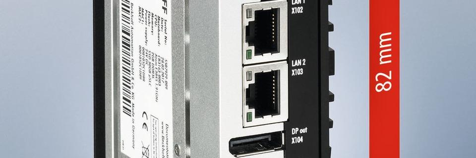 Leistungsstarker Industrie-PC im Mini-Gehäuse
