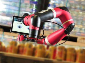 Sawyer-Roboter verkörpern den derzeit höchsten Entwicklungsstand bei kollaborativen Robotern.