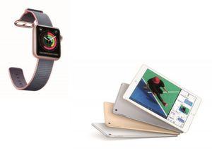 iPad und Apple Watch erobern Spitzenplätze