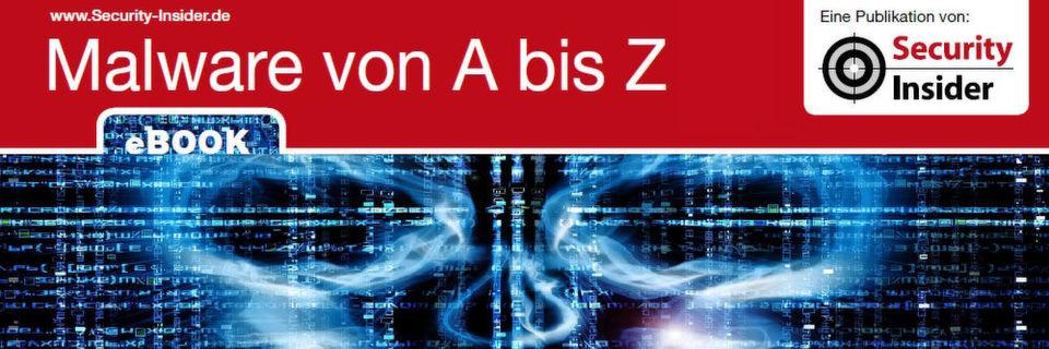 """Das eBook """"Malware von A bis Z"""" beschreibt die immer schnellere Weiterentwicklung von Malware, bei PCs, mobilen Geräten und im IoT, wo Malware besonders gefährlich wird."""