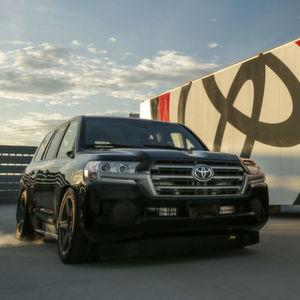 Toyotas getunter Land Speed Cruiser ist das schnellste SUV der Welt.