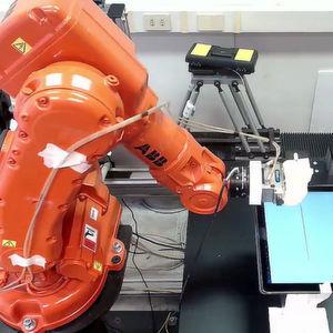 Sicherheitsrisiko Industrieroboter