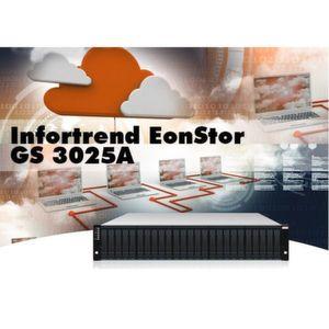 Das leistungsfähige All-Flash Array von Infortrend soll den Betrieb am Laufen halten.