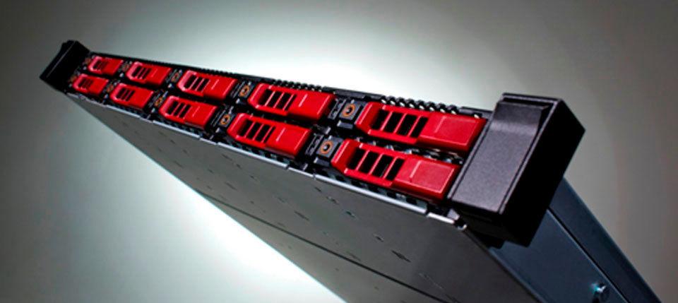 Bei Scale-out-Systemen, etwa den All-Flash-Komponenten von NetApp SolidFire, wird die Kapazität erweitert indem zusätzliche Storage Nodes hinzugefügt werden.