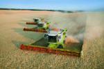 Mithilfe von GPS können auf großen Feldern die Landmaschinen automatisiert fahren.