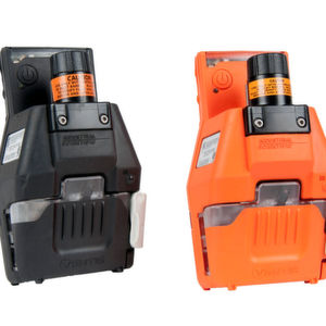 Available in black or safety orange and powered by its own battery pack, the slide-on pump is compatible with the Ventis MX4 and the Ventis Pro Series Multi-Gas Monitors.
