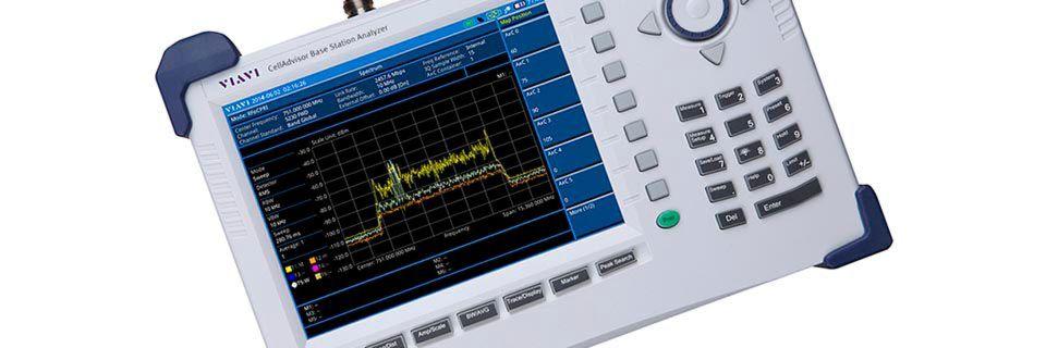 Der CellAdvisor Base Station Analyzer kann messen, wie sich NB-IoT-Signale auf LTE-Breitbandsignale auswirken.