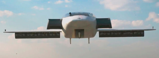 Der Lilium Jet: ein Kleinflugzeug, das die Vorteile eines Helikopters mit denen eines herkömmlichen Flugzeugs kombiniert.