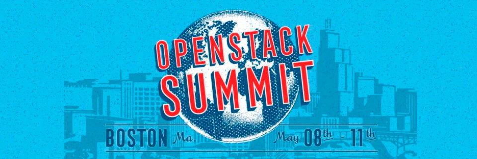 Das offizielle Logo des OpenStack Summit in Boston 2017