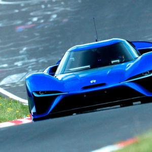 Der Nio EP9 hat seine Rundenzeit am Nürburgring deutlich verbessert.