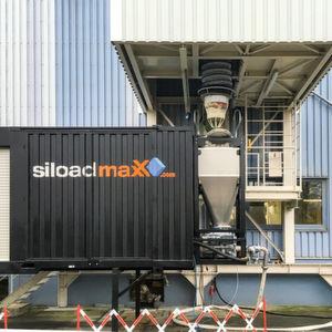 Präzises Befüllen von Inlinern in ISO-Containern