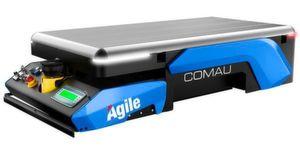 """Eine leistungsfähige Software verarbeitet Transportaufträge für das """"Agile1500"""", stellt die Fahrzeuge bereit und überwacht die gesamte AGV-Flotte."""