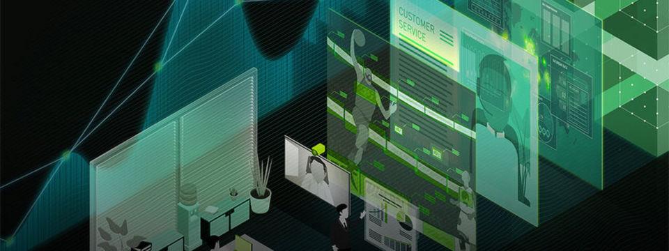 """Künstliche Intelligenz auf neuronalen Netzen und GPUs von Nvidia und SAP-Anwendungen gehörten die den Anündigungen der GPU Technology Conference. Aber auch """"Holodeck"""" erscheint vielversprechend."""