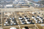 Dismantling and utilization of large storage tanks which brought refinancing cash flow.