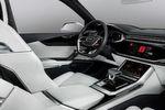 Audi Q8 sport concept: HMI-Bedienkonzept mit voll integriertem Android
