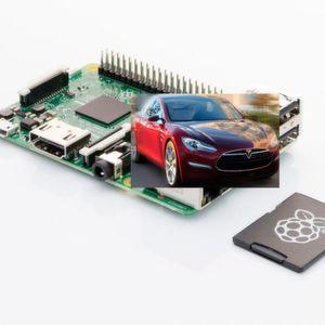 Raspberry Pi schlägt Tesla S