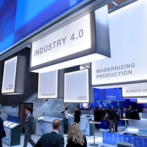 Industrie 4.0, Internet of Things und Smart Factory sind auch Themen auf der Ligna.