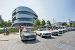 Einen Einblick in die Automobilgeschichte von den Anfängen bis heute bietet das Mercedes-Benz-Museum in Stuttgart.