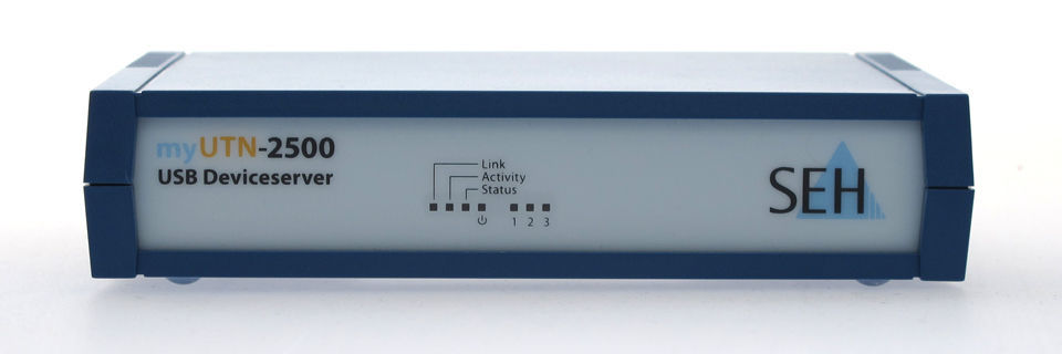 SEH liefert blaues Wunder für USB und Clients