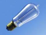Obwohl schon zu Beginn des 19. Jahrhunderts Versuche zur Lichterzeugung mittels glühender Fäden (Warren de la Rue, Platindraht, 1809; W. Pétrie, Iridiumdraht, 1849; Heinrich Goebel, Kohlefasern, 1854) durchgeführt wurden, brachte erst die Entdeckung des dynamoelektrischen Prinzips durch Werner von Siemens (1867) sowie die Entwicklung der Kohlefadenlampe durch Thomas Alva Edison und Joseph Wilson Swan im Jahr 1879 den Durchbruch für die elektrische Beleuchtung. Carl Auer von Welsbach entwickelte 1898 die erste Metallfadenlampe mit gespritztem Osmiumfaden als Glühkörper. 1903 und 1904 folgten die ersten Wolframlampen mit gespritzten Fäden (Patente von Alexander Just und Franjo Hanaman). Das Bild zeigt eine der ersten Just-Wolframlampen mit gespritztem Wolframfaden von 1907. Von 1905 bis 1911 dominierte Justs Wolframfaden-Spritztechnologie. 1909 gelang William Coolidge der Durchbruch bei der Herstellung gezogener Wolframdrähte, die Technik, die in modernen Glühlampen genutzt wird. // KR
