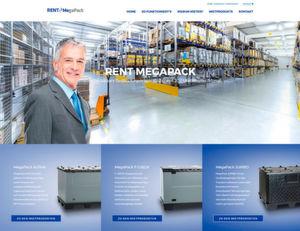 Mit der Rent-Megapack-Website unkompliziert Großladungsträger mieten.