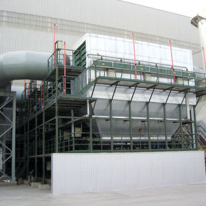 Das Maxx-Filtersystem, eingesetzt in der Stahlindustrie für 480000 m³/h